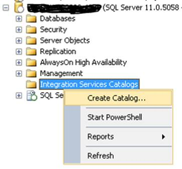 ssisdb for sql server integration services sqlservercentral